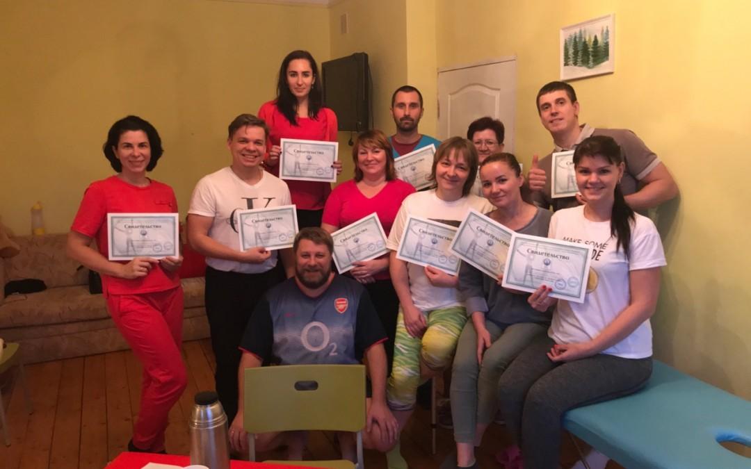 В октябре состоялся учебный курс по северному массажу.